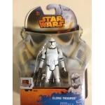 "STAR WARS ACTION FIGURE 3.75 "" - 9 cm CLONE TROOPER hasbro A8651 SL 08"