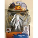 "STAR WARS ACTION FIGURE 3.75 "" - 9 cm SNOWTROOPER hasbro A8655 SL 12"
