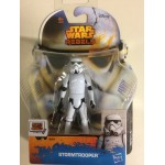 "STAR WARS ACTION FIGURE 3.75 "" - 9 cm STORMTROOPER hasbro A8644 SL 01"