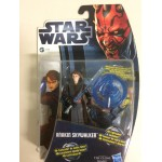 "STAR WARS ACTION FIGURE 3.75 "" - 9 cm ANAKIN SKYWALKER hasbro 37293 CW1"
