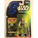 "STAR WARS ACTION FIGURE 3.75 "" - 9 cm LOBOT WITH BLASTER PISTOL AND TRASMITTER Hasbro 69856"
