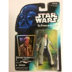 "STAR WARS ACTION FIGURE 3.75 "" - 9 cm HAN SOLO IN ENDOR GEAR WITH BLASTER PISTOL Hasbro 69621"
