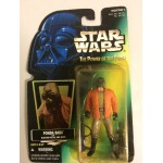 "STAR WARS ACTION FIGURE 3.75 "" - 9 cm PONDA BABA WITH BLASTER PISTOL AND RIFLE Hasbro 69708"