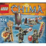 LEGO CHIMA 70231 CROCODILE TRIBE PACK