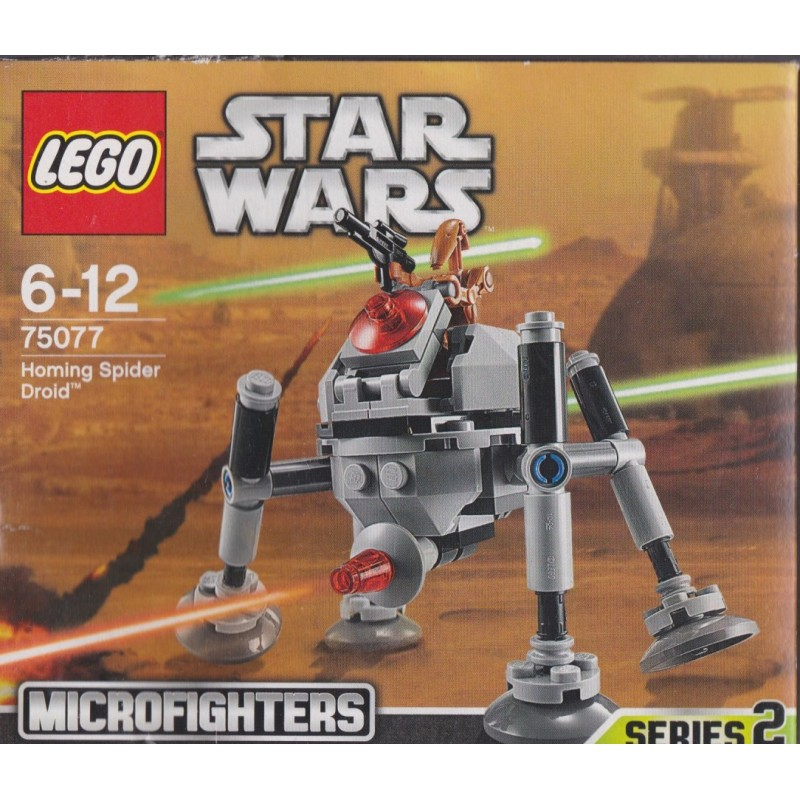 LEGO Star Wars Homing Spider Droid 75077 New Sealed Free Shipping