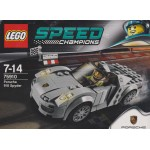 LEGO SPEED RACERS 75910 PORSCHE 918 SPYDER