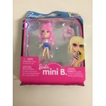 BARBIE MINI B FASHION RING SERIE PACKAGE n° 509 MATTEL T 5768 PINK AIR WITH WHITE SHIRT - BLUE SKIRT