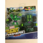 MARVEL SUPER HERO MASHERS MICRO HULK SMASH DOZER figure + vehicle pack B6685