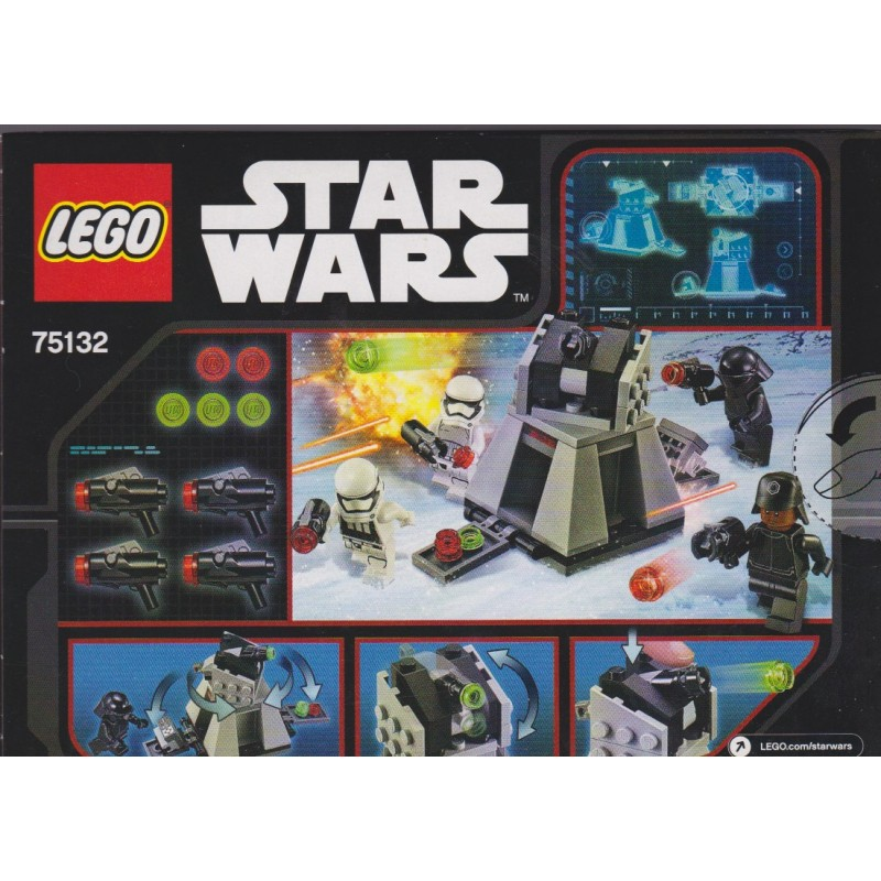 STAR Wars EP 7 primo ordine Stormtrooper DUE PACK