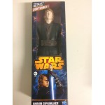 "STAR WARS ACTION FIGURE 12 "" - 30 cm ANAKIN SKYWALKER WITH LIGHTSABER HASBRO A0866"