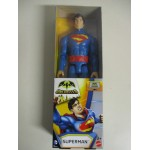 "SUPERHERO ACTION FIGURE 12 "" - 30 cm SUPERMAN MATTEL CDM 62"
