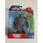 "ULTIMATE SPIDER MAN THE SINISTER 6 ACTION FIGURE 6"" - 15 cm MARVEL'S RHINO Hasbro B5877"