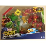 MARVEL SUPER HERO MASHER HULK BUSTER VS HULK DELUXE TWIN PACK
