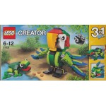 LEGO CREATOR 31031 RAINFOREST ANIMALS