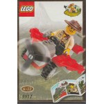 LEGO ADVENTURERS 5911 JOHNNY THUNDER'S PLANE