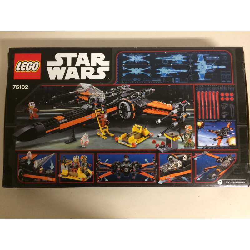 Lego Star Wars 75102 Poes X Wing Fighter Damaged Box Aquarius Age