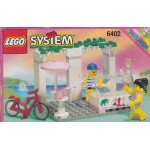 LEGO SYSTEM PARADISA 6402 SIDEWAY CAFE damaged box
