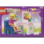 LEGO SYSTEM BELVILLE 5810 VANITY FUN damaged box