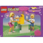LEGO SYSTEM BELVILLE 5830 FUN DAY SUNDAES damaged box