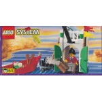 LEGO SYSTEM PIRATES 6244 IMPERIAL ARMADA SENTRY damaged box