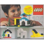 LEGO STARTER SET 1 released in 1977 forItalian market only New in opened box