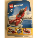 LEGO CREATOR 6741 MINI JET 3 in 1 damaged box