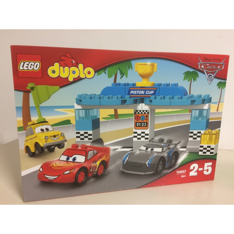 Lego Duplo 10857 Cars 3 Disney Piston Cup Race Aquarius Age Sagl Toys