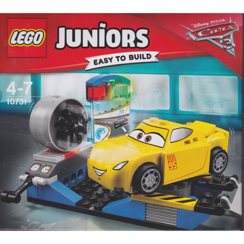 Lego Juniors Easy To Build 10731 Disney Cars 3 Cruz Ramirez Race Simulator Aquarius Age Sagl Toys