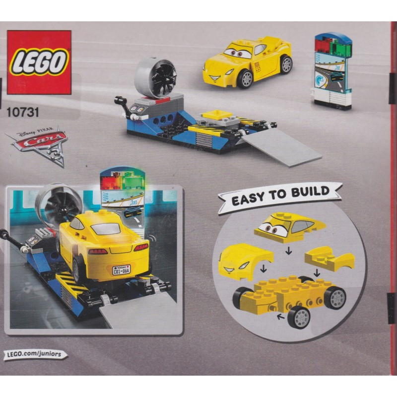 LEGO JUNIORS EASY TO BUILD 10731 DISNEY CARS 3 CRUZ RAMIREZ RACE SIMULATOR