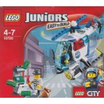 LEGO JUNIORS EASY TO BUILD 10720 POLICE HELICOPTER CHASE