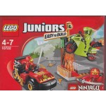 LEGO JUNIORS EASY TO BUILD 10722 NINJAGO LA RESA DEI CONTI CON IL SERPENTE