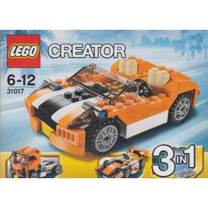 LEGO CREATOR 31017 SUNSET SPEEDER 3 IN 1