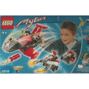 LEGO ACTION WHEELER 2916 MY BOT incl interactive LCD DISPLAY & SPECIAL BRICKS