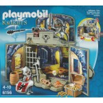 PLAYMOBIL KNIGHTS 6156 SECRET PLAYBOX KNIGHTS TREASURE ROOM