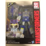 TRANSFORMERS GENERATIONS TITANS RETURN LEADER CLASS SOUNDWAVE ACTION FIGURE Hasbro B8358