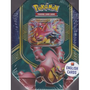 POKEMON trading card game TIN BOX VOLCANION EX English cards