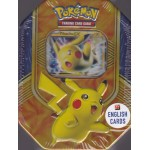 POKEMON trading card game TIN BOX PIKACHU EX English cards