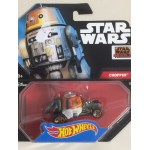 HOT WHEELS - STAR WARS CHARACTER CAR CHOPPER single vehicle package DTB11-0517