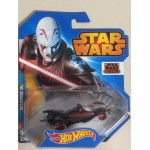 HOT WHEELS - STAR WARS CHARACTER CAR THE INQUISITOR single vehicle package CGW48-0511