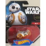 HOT WHEELS - STAR WARS CHARACTER CAR BB-8 single vehicle package CGW51-0517