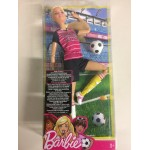 BARBIE MADE TO MOVE BLONDE FOOTBALL PLAYER mattel DVF 70