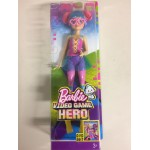 BARBIE VIDEOGAME HERO PINK EYEGLASSES DOLL Mattel DTW 06