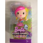 BARBIE VIDEOGAME HERO JUNIOR DOLL YELLOW & PINK HAIR Mattel DTW 14
