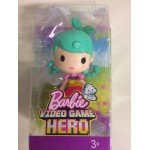 BARBIE VIDEOGAME HERO JUNIOR DOLL GREEN HAIR Mattel DWW 32