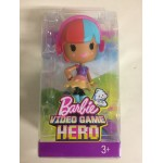 BARBIE VIDEOGAME HERO JUNIOR DOLL RED & BLUE HAIR Mattel DWW 30