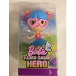 BARBIE VIDEOGAME HERO JUNIOR DOLL BLUE HAIR & EYEGLASSES Mattel DWW 31