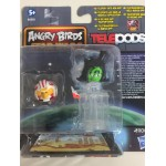 STAR WARS ANGRY BIRDS TELEPODS LUKE PILOT - EMPEROR PALPATINE TELEPODS 2 FIGURES SET Hasbro A6058