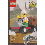 LEGO ADVENTURERS 5913 DR. LIGHTNING'S CAR