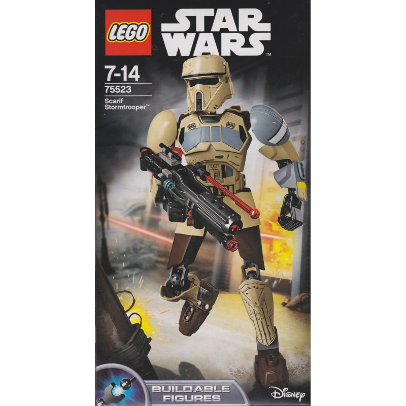 LEGO STAR WARS 75523 SCARIF TROOPER  BUILDABLE FIGURE NEW AND SEALED
