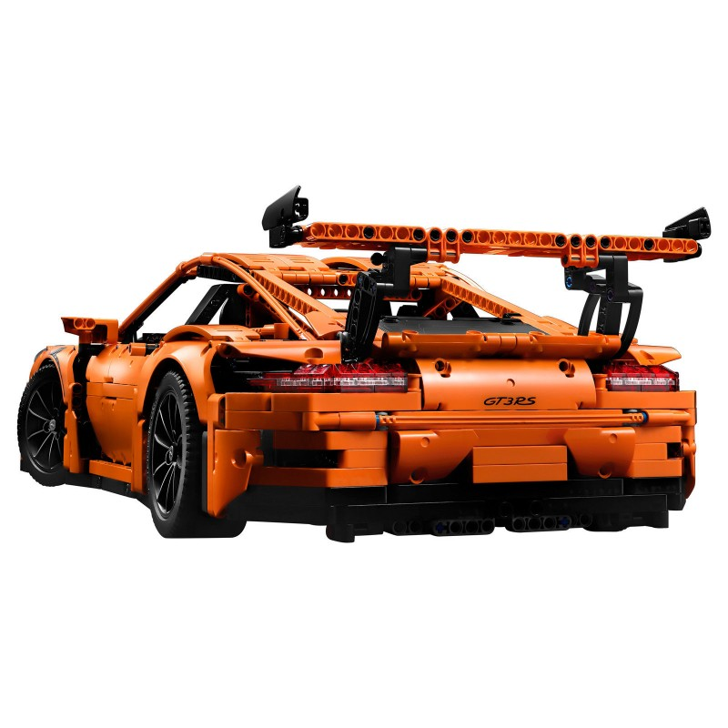 lego technic 42056 porsche 911 gt3 rs scale 1 8. Black Bedroom Furniture Sets. Home Design Ideas